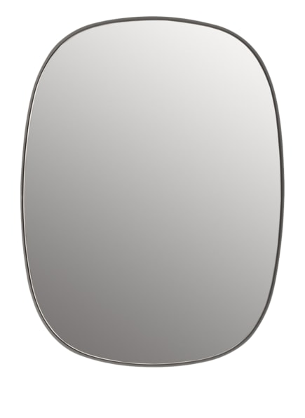 MUUTO Spiegel FRAMED SMALL, Farbe: HELLGRAU (Bild 1)