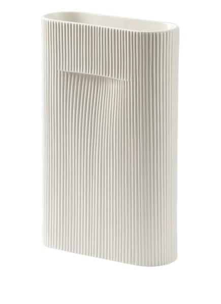 MUUTO Vase RIDGE, Farbe: WEISS (Bild 1)