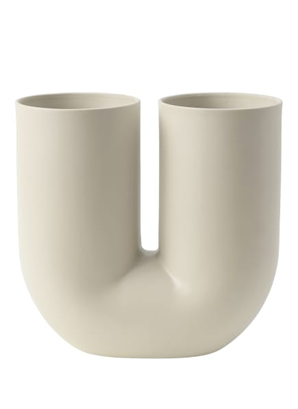 MUUTO Vase KINK , Farbe: CREME (Bild 1)