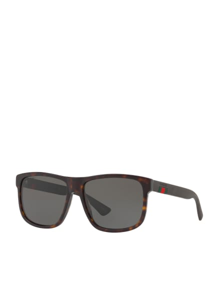 GUCCI Sonnenbrille GC000970, Farbe: 4402L1 - HAVANA/ GRAU POLARISIERT (Bild 1)