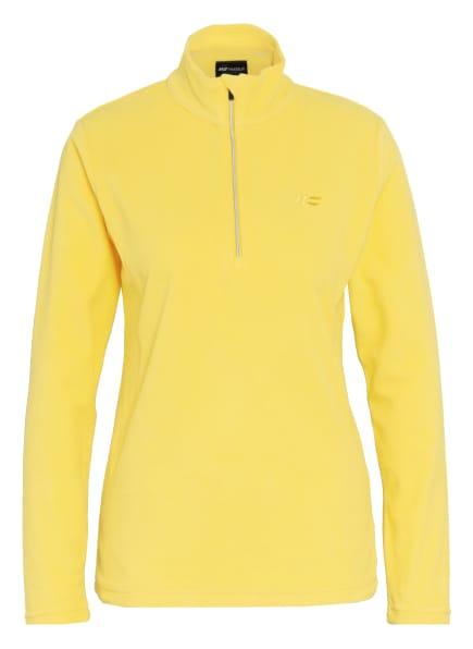 Hot Stuff Fleecepullover, Farbe: GELB (Bild 1)