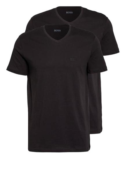 BOSS 2er-Pack T-Shirts, Farbe: SCHWARZ (Bild 1)
