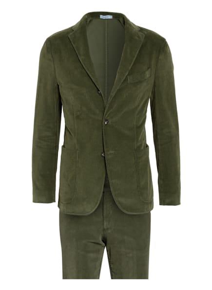 BOGLIOLI Cordanzug Extra Slim Fit, Farbe: OLIV (Bild 1)