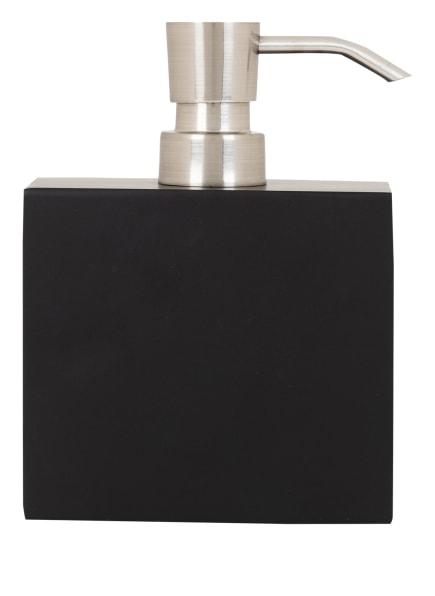 AQUANOVA Seifenspender MOON, Farbe: SCHWARZ/ SILBER (Bild 1)