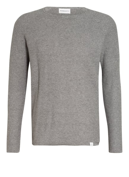 NOWADAYS Pullover THE HONEYCOMB , Farbe: GRAU (Bild 1)