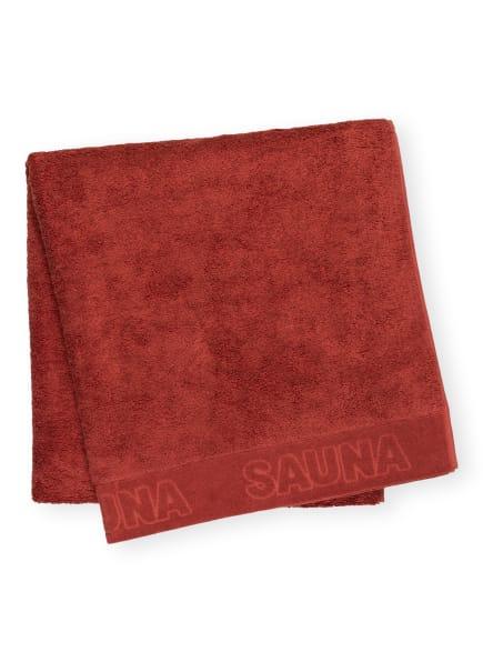 en VOGUE Saunatuch , Farbe: DUNKELROT (Bild 1)