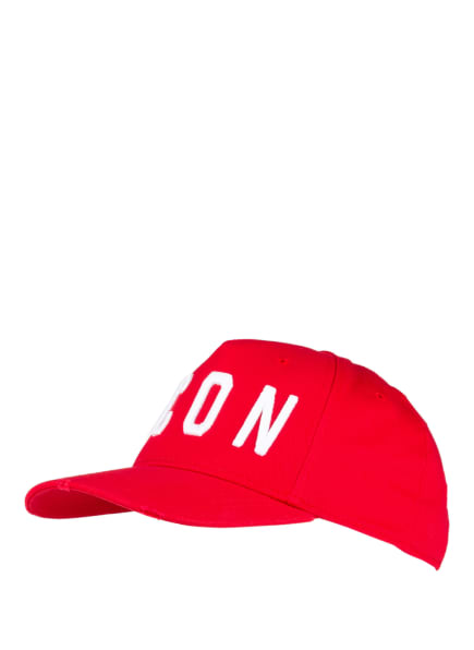 DSQUARED2 Cap ICON, Farbe: ROT/ WEISS (Bild 1)