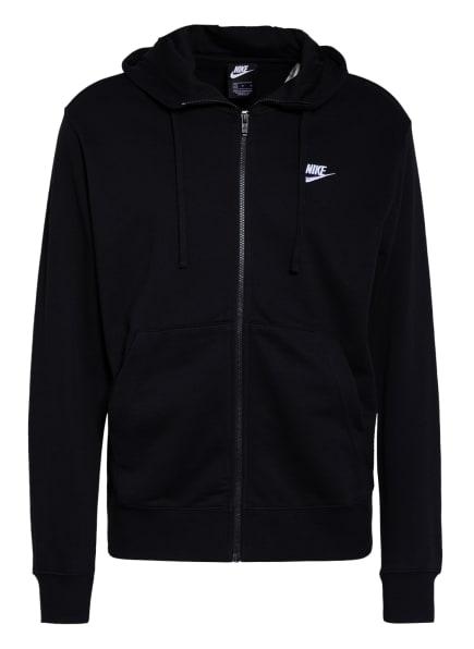 Nike Sweatjacke SPORTSWEAR CLUB, Farbe: SCHWARZ (Bild 1)