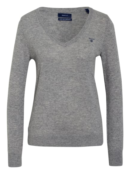 GANT Pullover, Farbe: GRAU (Bild 1)