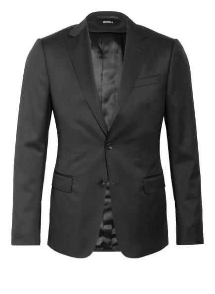 ZZegna Anzugsakko Slim Fit, Farbe: 847 Black (Bild 1)