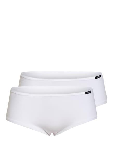 Skiny 2er-Pack Panties ADVANTAGE COTTON, Farbe: WEISS (Bild 1)