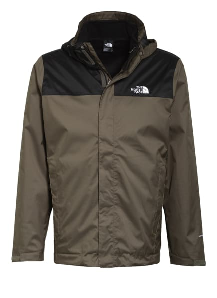 THE NORTH FACE Outdoor-Jacke MENS EVOLVE II TRICLIMATE, Farbe: KHAKI/ SCHWARZ (Bild 1)
