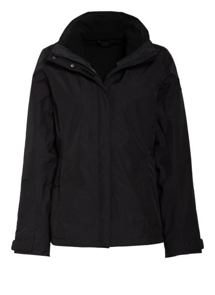 Schöffel 3-in-1-Jacke TIGNES mit ZipIn!-Funktion, Farbe: SCHWARZ (Bild 1)