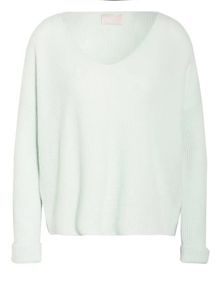 Mrs & HUGS Cashmere-Pullover, Farbe: MINT (Bild 1)