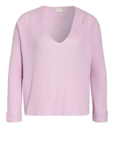 Mrs & HUGS Cashmere-Pullover, Farbe: HELLLILA (Bild 1)