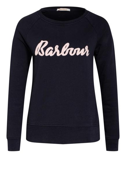 Barbour Sweatshirt OTTERBURN, Farbe: DUNKELBLAU/ ROSÉ (Bild 1)