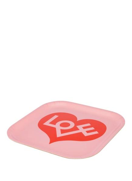 vitra Tablett CLASSIC TRAY SMALL, Farbe: ROSA/ ROT (Bild 1)