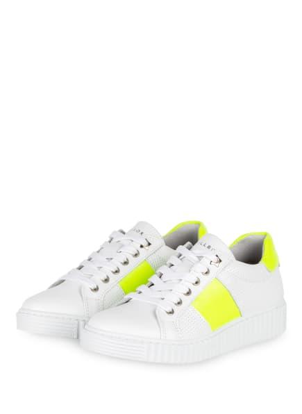 BULLBOXER Sneaker , Farbe: WEISS/ BRAUN (Bild 1)