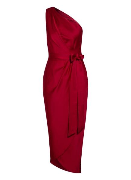 TED BAKER One-Shoulder-Kleid GABIE in Wickeloptik, Farbe: DUNKELROT (Bild 1)