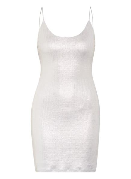 alice+olivia Kleid NELLE, Farbe: SILBER (Bild 1)