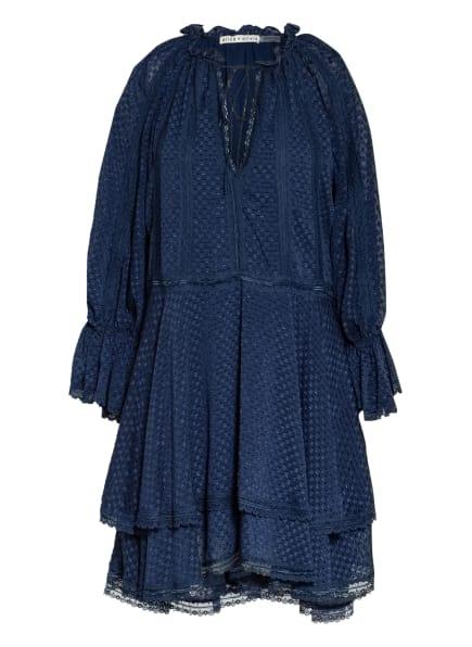 alice+olivia Kleid JOANNE mit 3/4-Arm, Farbe: BLAU (Bild 1)