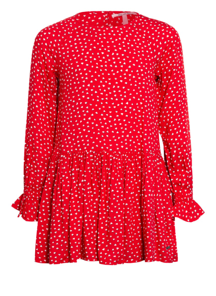Pepe Jeans Kleid, Farbe: ROT/ WEISS (Bild 1)
