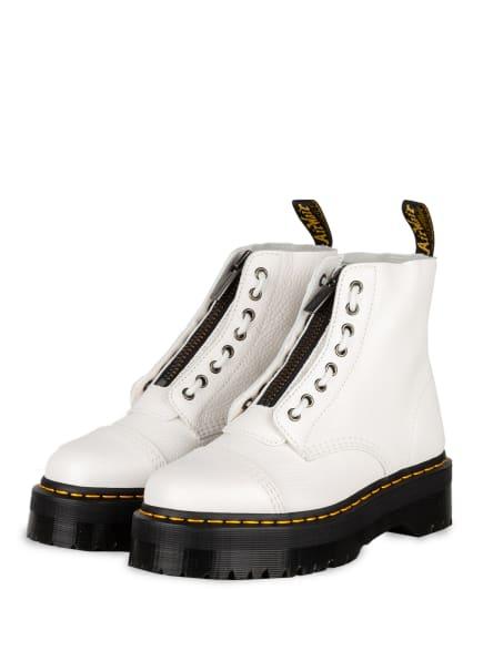 Dr. Martens Plateau-Boots SINCLAIR , Farbe: WEISS (Bild 1)