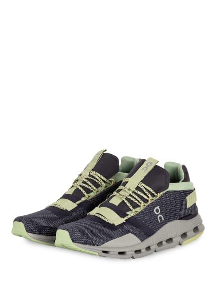 On Running Sneaker CLOUDNOVA, Farbe: DUNKELGRAU/ HELLGRÜN (Bild 1)