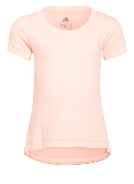 adidas T-Shirt AEROREADY, Farbe: ROSA (Bild 1)
