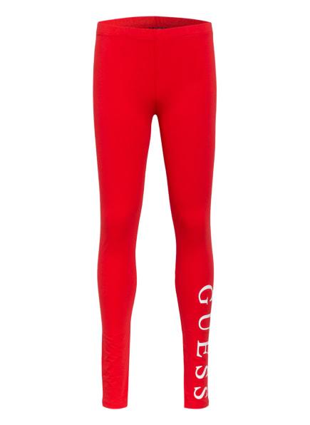 GUESS Leggings CORE, Farbe: ROT (Bild 1)