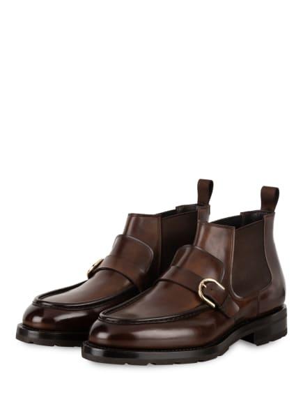 Santoni Chelsea-Boots COLLIN, Farbe: DUNKELBRAUN (Bild 1)