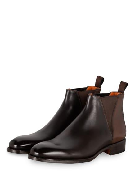Santoni Chelsea-Boots, Farbe: DUNKELBRAUN (Bild 1)