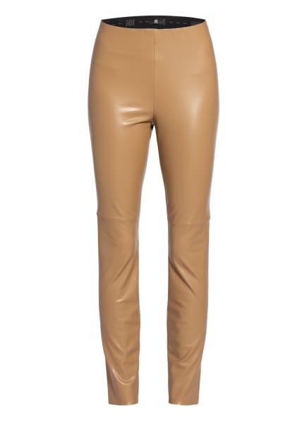 RIANI Leggings in Lederoptik, Farbe: BEIGE (Bild 1)