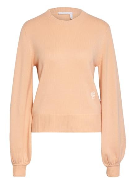 Chloé Cashmere-Pullover, Farbe: LACHS (Bild 1)
