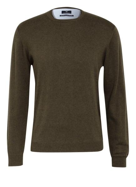 STROKESMAN'S Pullover, Farbe: DUNKELGRÜN (Bild 1)