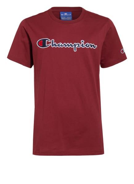 Champion T-Shirt, Farbe: DUNKELROT (Bild 1)