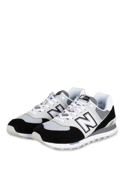 new balance Sneaker ML574, Farbe: SCHWARZ/ WEISS/ BLAUGRAU (Bild 1)