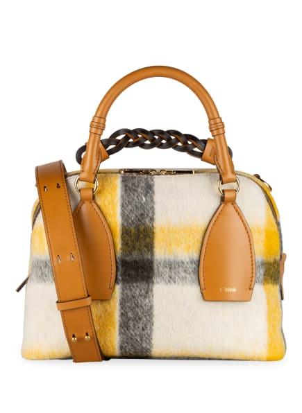 Chloé Handtasche DARIA MEDIUM, Farbe: AUTUMNAL BROWN (Bild 1)