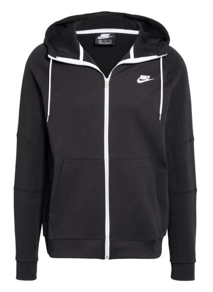 Nike Sweatjacke, Farbe: SCHWARZ (Bild 1)