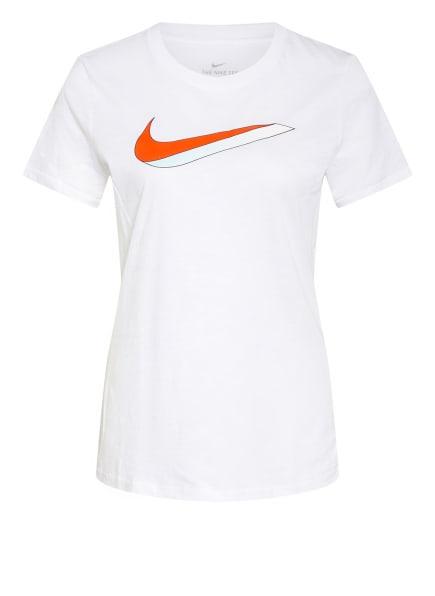 Nike T-Shirt ICON, Farbe: WEISS/ ROT/ MINT (Bild 1)
