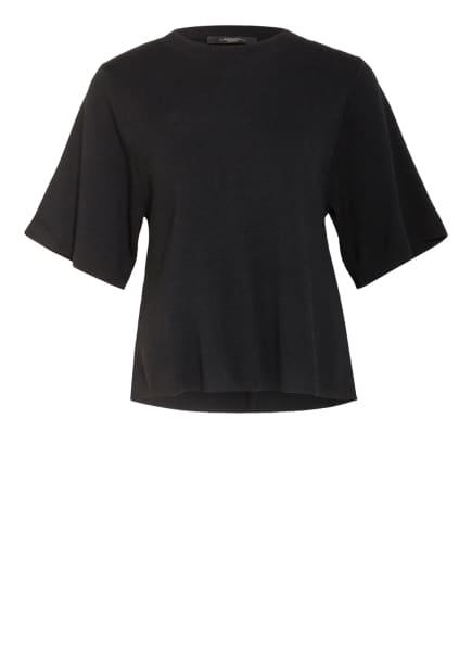 WEEKEND MaxMara Strickshirt RIVE , Farbe: SCHWARZ (Bild 1)