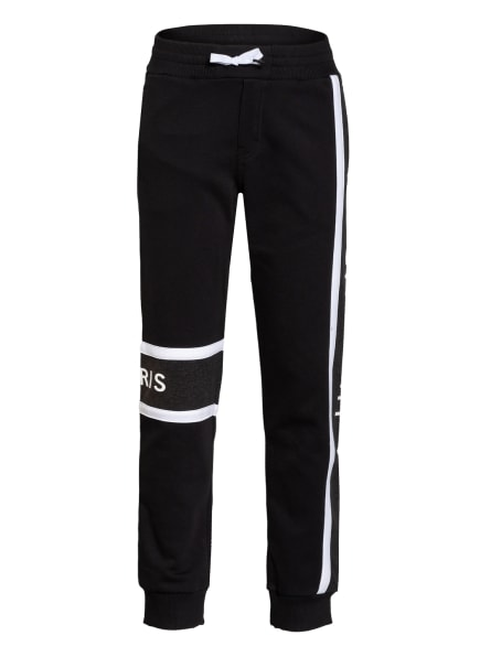 GIVENCHY Sweatpants, Farbe: SCHWARZ/ WEISS/ DUNKELGRAU (Bild 1)