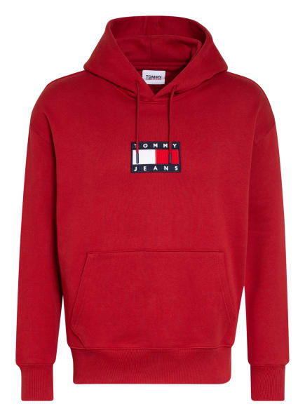 TOMMY JEANS Hoodie , Farbe: ROT (Bild 1)