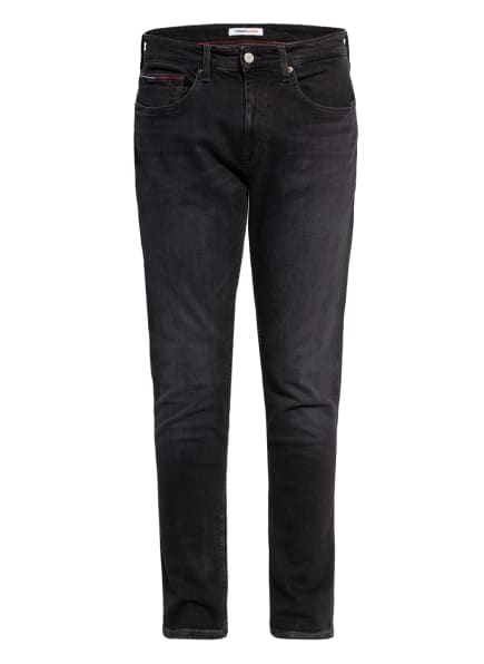 TOMMY JEANS Jeans AUSTIN Slim Fit, Farbe: 1BY Max Black Str (Bild 1)