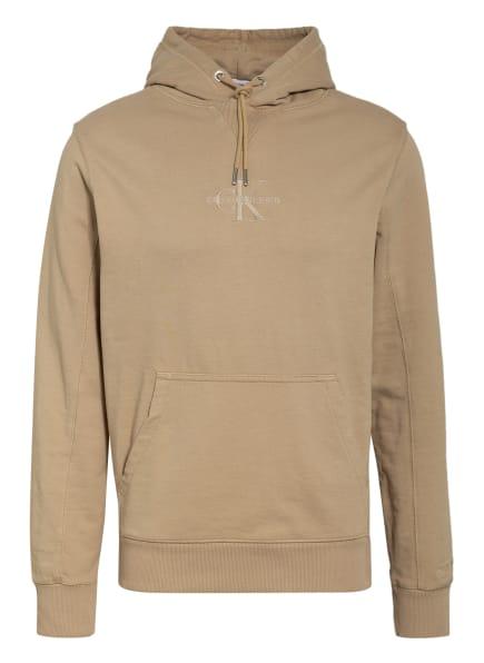 Calvin Klein Jeans Hoodie , Farbe: BEIGE (Bild 1)