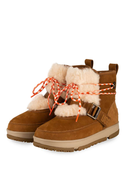 UGG Boots CLASSIC WEATHER HIKER, Farbe: COGNAC (Bild 1)