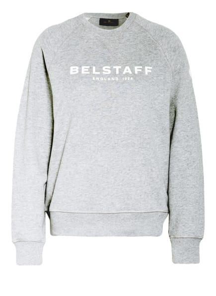 BELSTAFF Sweatshirt, Farbe: GRAU/ WEISS (Bild 1)