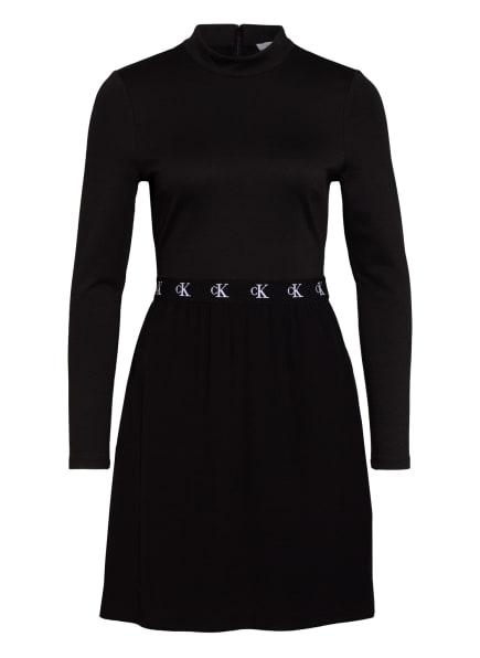 Calvin Klein Jeans Jerseykleid, Farbe: SCHWARZ (Bild 1)