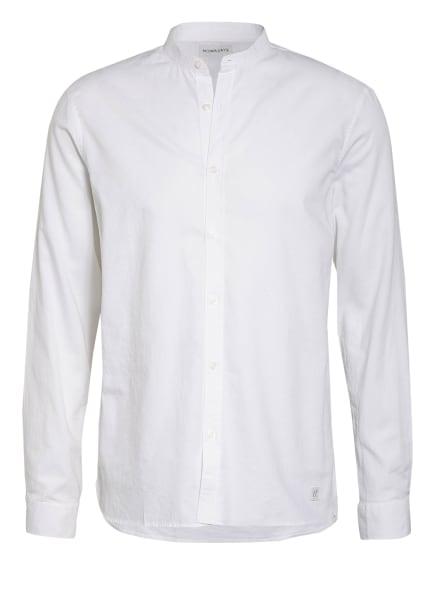 NOWADAYS Hemd Regular Fit mit Stehkragen, Farbe: WEISS (Bild 1)