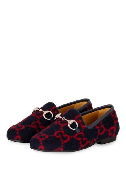 GUCCI Loafer, Farbe: 4163 BLUE RED/BLUE (Bild 1)